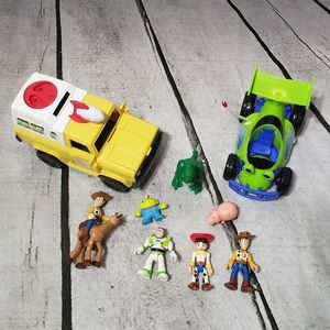 Imaginext Toy Story Figurines